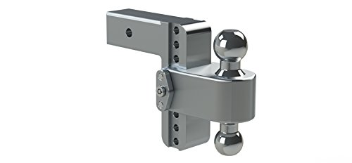 Hitch Ball Mount Assembly (180 Hitch by Weigh Safe: 6-inch Drop (2.5 Shaft) LTB6-2.5 with WS03 Key Lock Assembly)