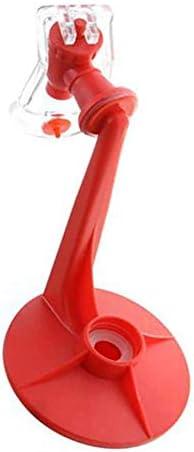 rosemaryrose Coke Cola Dispenser EIN Getränkebrunnen mit Kohlensäure - Inverted Drinker Handgepresster tragbarer Inverted Water-Dispenser Trinkbrunnen für Cola für Sprite-Flaschen
