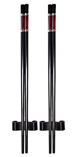- Amazing Grace Luxury Designer Chopsticks Gift Set Top Design Series S-2 (Tibetan Red)