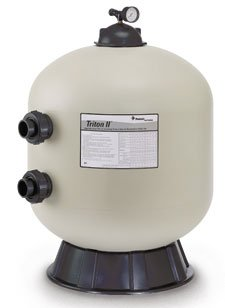 - Pentair Triton II Side Mount Filter TR40 Fiberglass Sand Filter without Valve