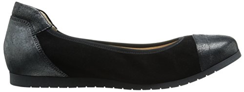 French Sole FS/NY Womens Oblige Flat Black lL4xwLrYAN