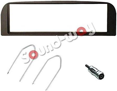 Sound Way 1 Din Autoradio Radioblende Radiorahmen Iso Verbindungskabel Antennenadapter Schlüssel Kompatibel Mit Alfa 147 Alfa Gt Auto