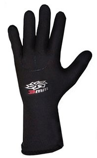 Hyperflex Surf Gloves - Hyperflex Wetsuits Men's 5mm Mesh Skin Glove, Black, X-Large - Surfing, Windsurfing & Wakeboarding