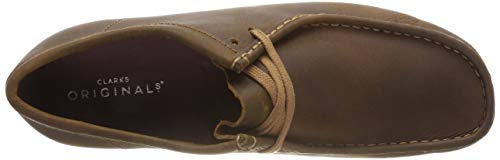 Originals Marronbeeswax Clarks Leather Homme Wallabee Derbys mN08vynwO