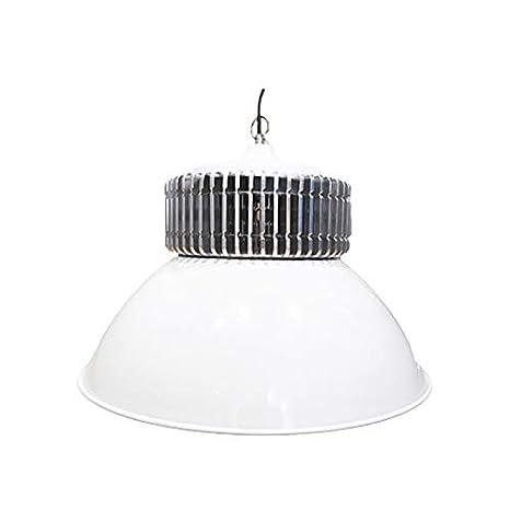Campana industrial LED 100W económica luz blanca fría 6000k 11000 lumens: Amazon.es: Iluminación