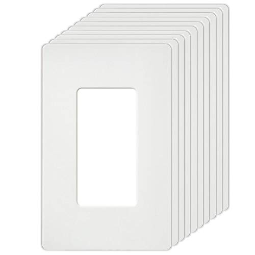 BESTTEN USWP4 Series, 1-Gang Standard Size Screwless Wall P