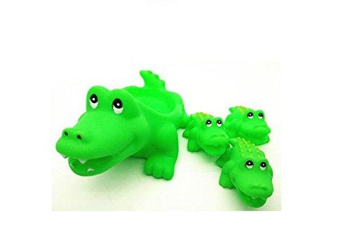 Mings Stilvolle und Niedliche Badespielzeuge Satz von 4 Stü ck Kinder Niedlichen Cartoon Krokodil Badewanne Badezimmer Bad Spielzeug Wasser Spielen Spielzeug