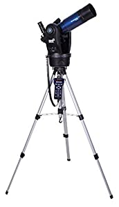 Meade Instruments ETX80 Observer Achromatic Refractor Telescope with Adjustable Field Tripod, Eyepieces and Deluxe Backpack (205002)