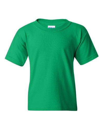 Gildan Heavy Cotton Youth 5.3 oz. T-Shirt, Small, IRISH GREEN - Gildan Youth Short
