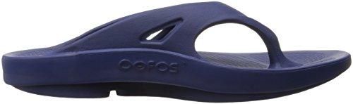 Bleu Oofos De Ooriginal Marine Sandales Thong Femme Sport YwTrYq