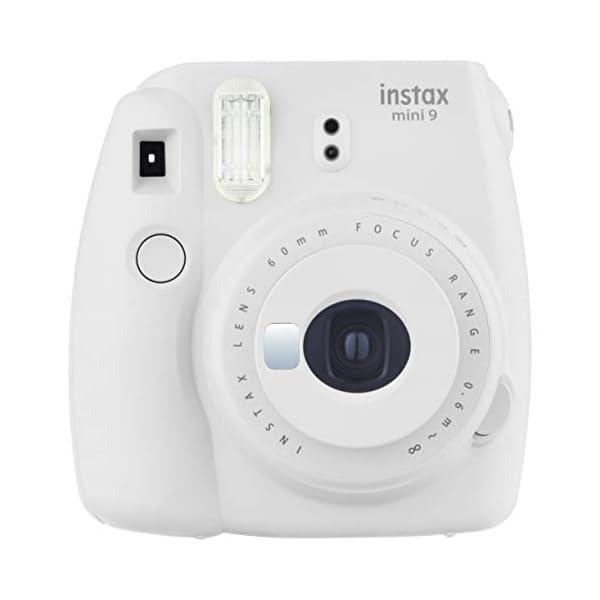RetinaPix Fujifilm Instax Mini 9 Instant Camera (Smokey White)