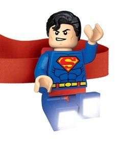 LEGO DC Universe Super Heroes - Superman LED Elastic Head lamp