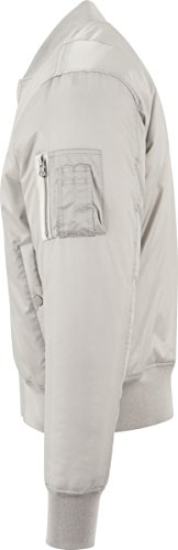 Basic Grau 138 h grey Uomo Giacca Urban Jacket Bomber Classics 7qFwvS