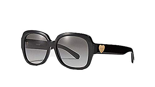 Coach Zoey Heart Sunglasses in Black with Case - #L1052