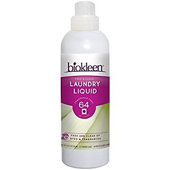 Biokleen Laundry Detergent Liquid, Concentrated, Eco-Friendly, Non-Toxic, Plant-Based, No Artificial Fragrance or Preservatives