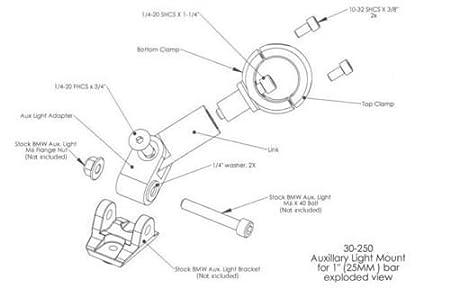 Para R1200GS F800GS ADV Luces de niebla del LED del arn/és del cableado Fusible de encendido//apagado