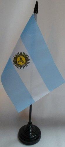 AZ FLAG Drapeau de Table Argentine 15x10cm