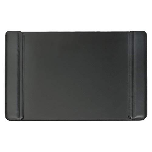 Artistic 24 x 38 Sagamore Executive Desk Pad with Padded Flip Side Rails, Black (5133-8-1)