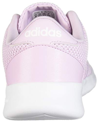 adidas Women's Cloudfoam QT Racer, White/aero Pink, 5.5 M US by adidas (Image #2)