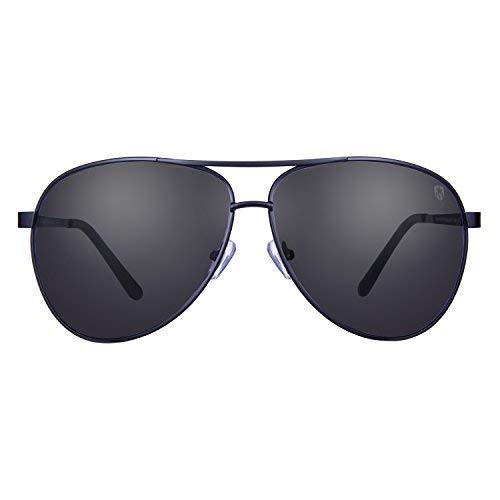 34f12ab04faf5 Tom Martin Metal Alloy Frame UV–400 Protected Sunglasses – Frisco – Aviator  – Matte
