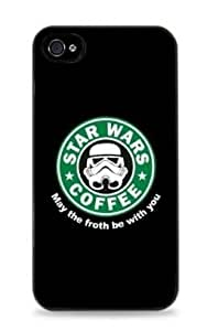 Storm Trooper Starbucks iPhone 6 (4.7 inch) i6 Silicone Case - Black- 715