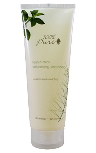 Vegan Shampoo by 100% Pure, Volumizing Kelp & Mint, 8 oz