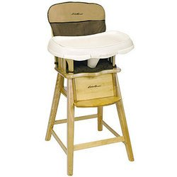 Eddie Bauer Wood High Chair Discontinued By Manufacturer
