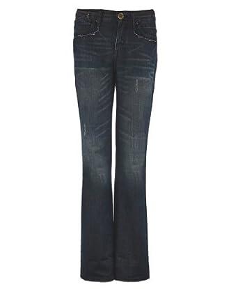 Jeans Droite Moulante Coupe Bleunoir46 Femme 4jALR5