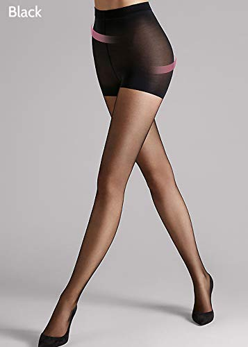 (Wolford Women's Individual 10 Control Top Tights Black Medium)