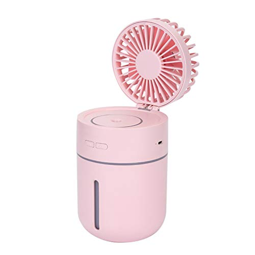 Handheld Misting Fan,Beautyolove Deluxe Misting Fan, Handheld Misting Fan, Battery Operated Fan, Water Spray Fan, Mini Portable Desk Fan, Personal Cooling Fan for Outdoor, Fine Mist Sprayer ()