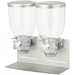 Zevro KCH-06157 Double Pro Model 17.5 oz Dispenser, Silver