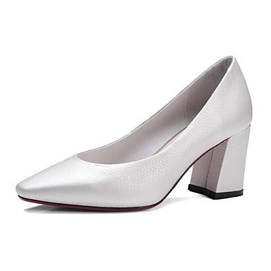 pwne Tacones De Mujeres Pu Confort Casual De Resorte Plano Blanco Blanca Us8 / Ue39 / Uk6 / Cn39 US7.5 / EU38 / UK5.5 / CN38
