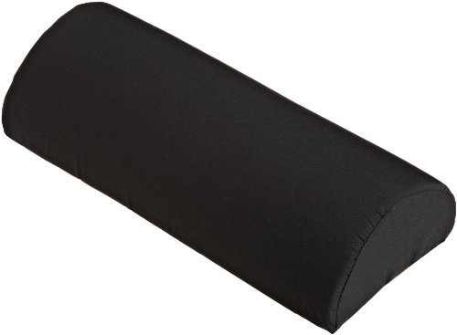 Softeze Memory Foam Half Lumbar Roll with Polycotton Zippered Cover & Strap - L 10' x H 6' x W 6'