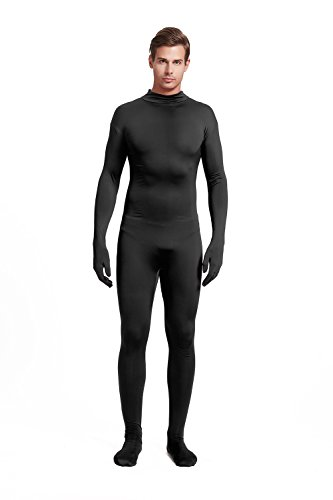 - 31NIDU 2BBcOL - Full Bodysuit Unisex Adult Costume Without Hood Lycra Spandex Stretch Zentai Unitard Body Suit