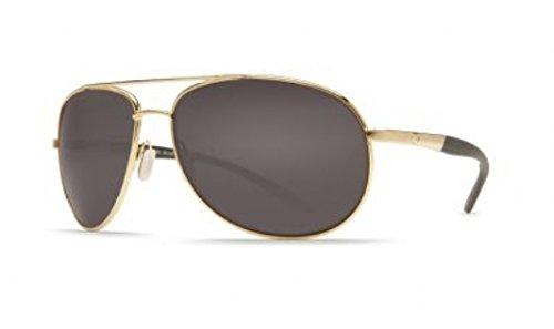 Costa Del Mar Wingman Sunglasses Gold / Gray - Wingman Del Mar Costa