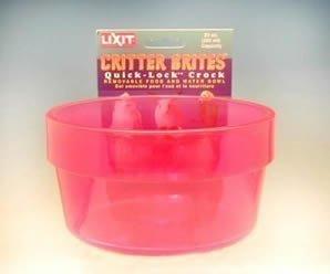 Lixit Quick Lock Critter Brite Crock (Critter Crock)