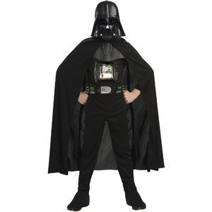 Jabba Costumes (Darth Vader Deluxe Costume Full Suit and Mask Medium Size 8 by Rubies)
