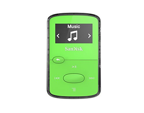 SanDisk Clip Jam 8 GB MP3 Player - Green