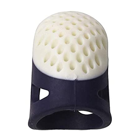 XZANTE Herramientas DIY De Costura Dom/éstico Dedal Protector De Dedos Accesorios De Artesan/ía Acolchar Dedal De Dedo Antideslizante C/ómodo Peque?o Azul