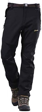 HANMAX Men Women Ski Pants Waterproof Snow Bib Pants Insulated Winter