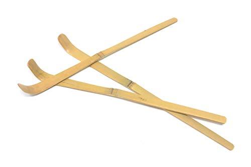 3pcs Set Chasaku Spoon - Matcha Bamboo Scoop - Handmade, unique and all natural