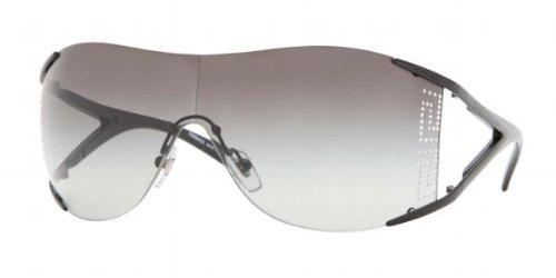 2d6f57c190 Versace Ve 2087B 100911 Black Sunglasses  Amazon.co.uk  Clothing
