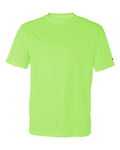 Badger Mens B-Core Short-Sleeve Performance Tee (4120) -LIME -S