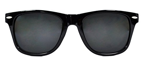 gafas Millennium de 2018 sol Star colección Negro unisex WOOD de nueva EOgExqr