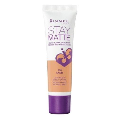 Matte Sand (Rimmel Stay Matte Liquid Mousse Foundation - 300 Sand by Rimmel)