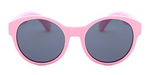 TIJN Toddler Little Kids Polarized Sunglasses with Round - Sunglasses Little Round