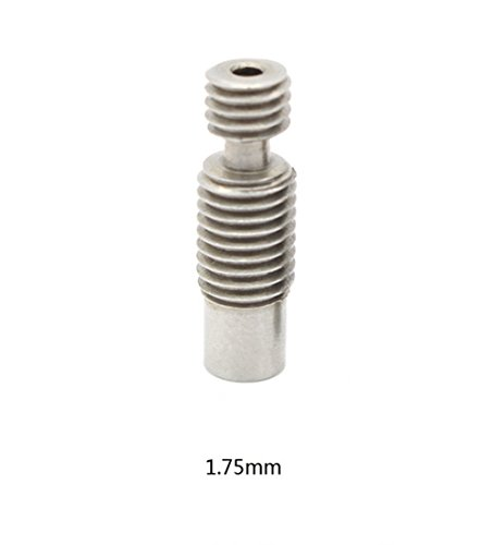 RONGT-5-pcs-3D-Printer-Accessories-v6-Stainless-Steel-Heat-Smash-Hotend-Throat-to-175mm-Filament
