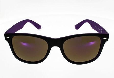 Ad Sol Lunettes de Soleil AZ16115A Style Wayfarer Noire et violet Mat Mixte  Indice 3 Grand Visage  Amazon.fr  Vêtements et accessoires 4ee612d8fcce