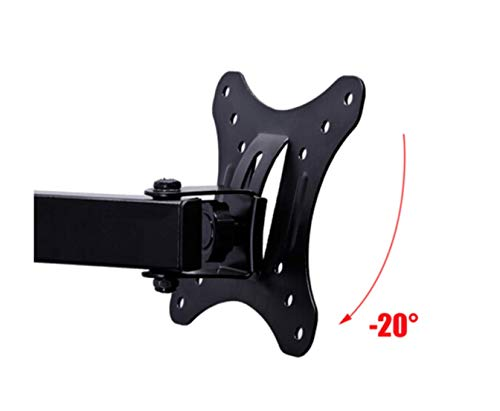 """SVD Articulating Arm TV & LCD Monitor Wall mount, for 12"""" to 30"""" Displays up to 45 lbs, VESA 50 x 50 mm, 75 x 75 mm, 100 x 100 mm"""