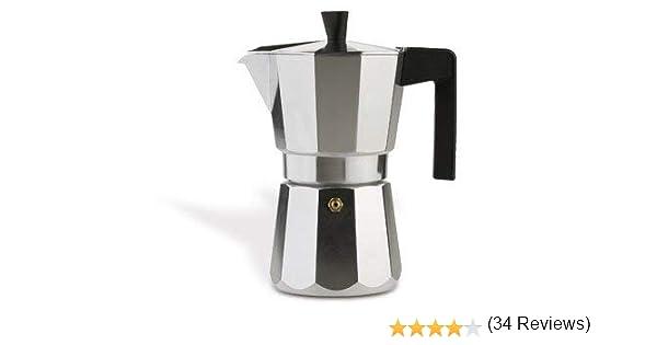 Valira 3106 Vitro-Cafetera 6 tazas, Negro: Amazon.es: Hogar